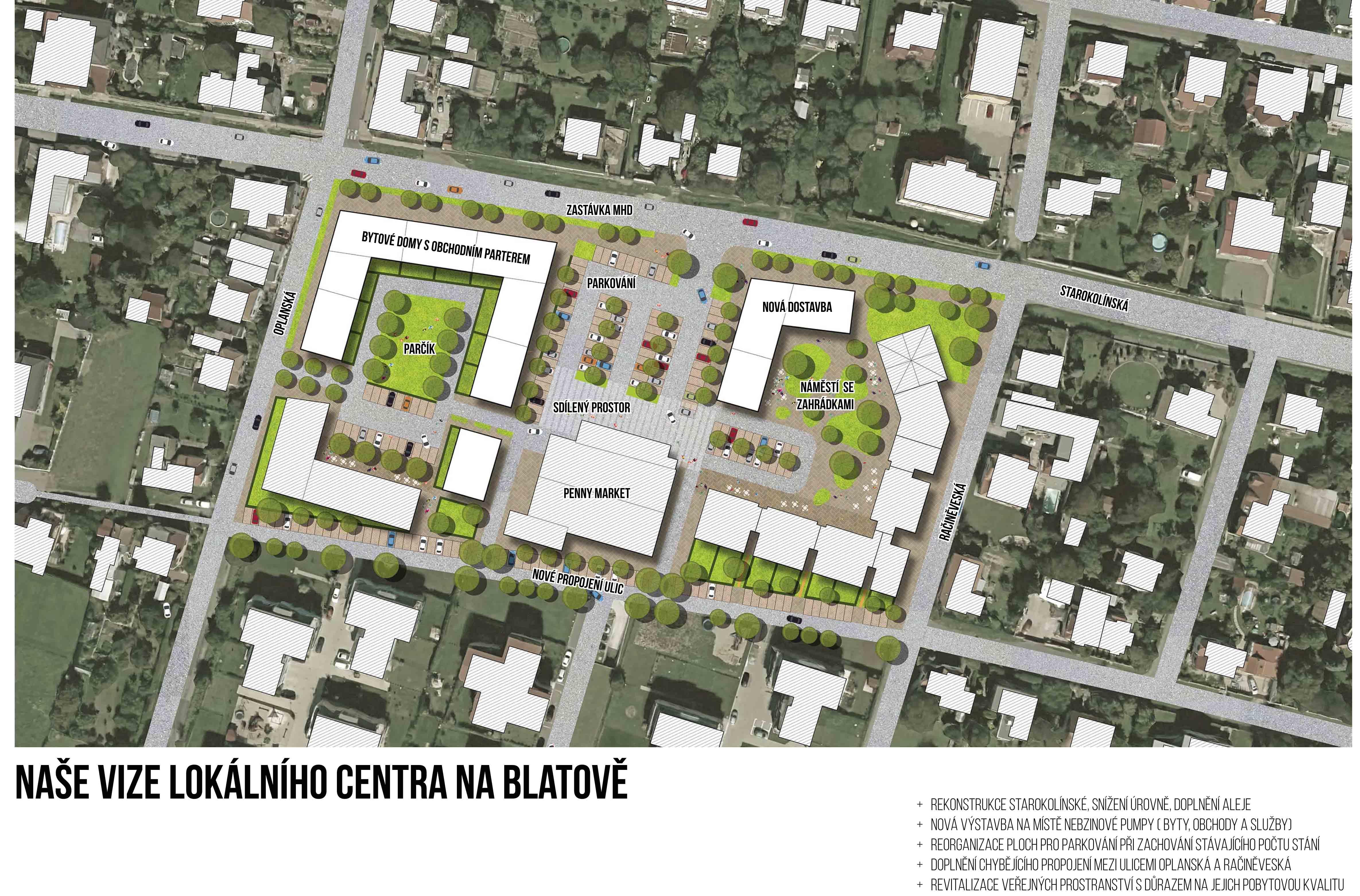 Naše vize lokálního centra na Blatově