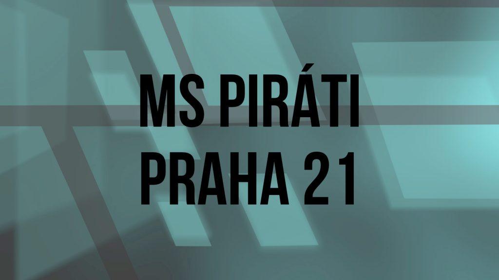 Založení MS PIRÁTI Praha 21