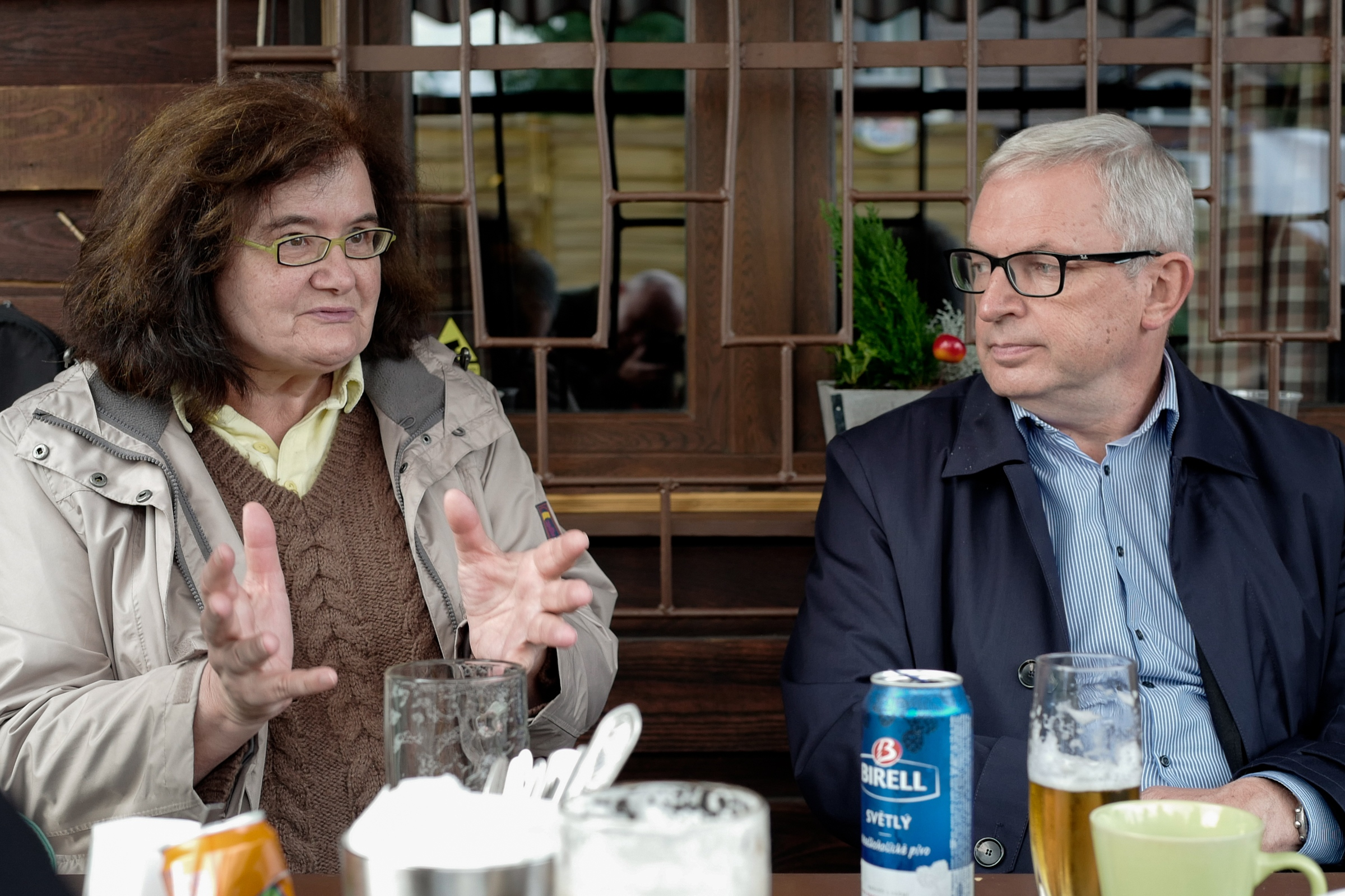 David Smoljak a Marie Kučerová